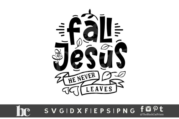 Fall For Jesus SVG | Fall SVG | Thanksgiving SVG | Christian