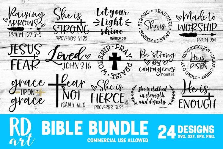 Bible Scripture Bundle SVG, DXF, PNG, EPS
