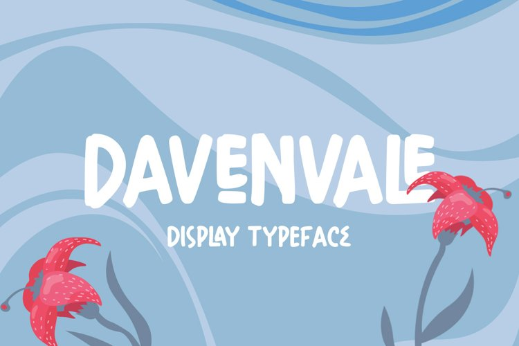 Davenvale - Display Typeface example image 1