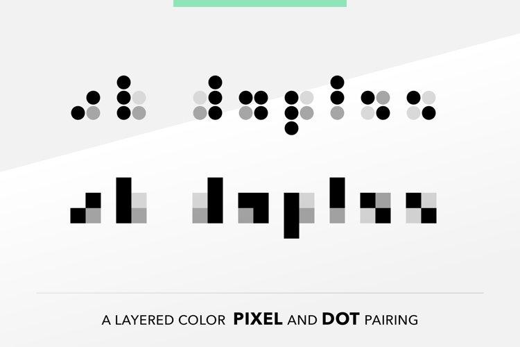 SB Duplex - Pixel font