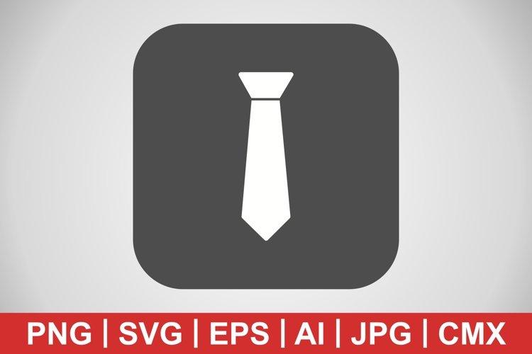 Vector Tie Icon example image 1