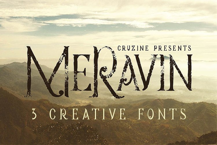 Meravin Typeface example image 1