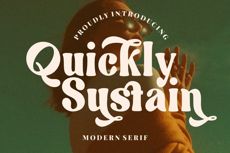 Quickly Sustain Modern Serif example image 1