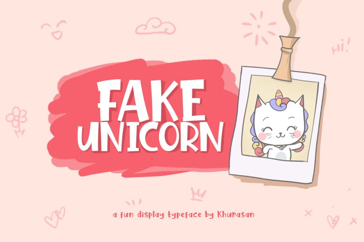 Fake Unicorn example image 1