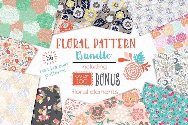 Floral Pattern Bundle - Vectors