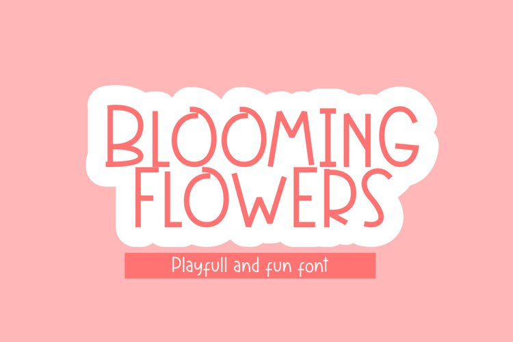 Blooming Flowers example image 1