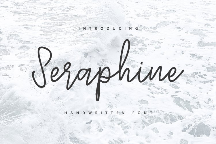 Seraphine - Handwritten Font example image 1