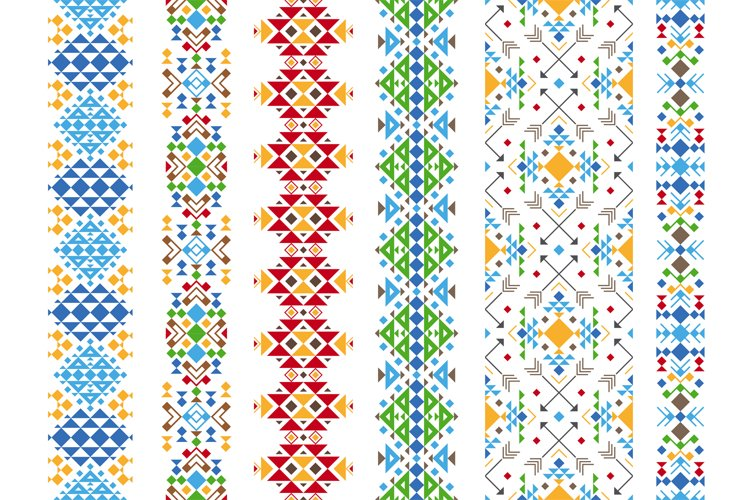 Color ethnic ornament example image 1