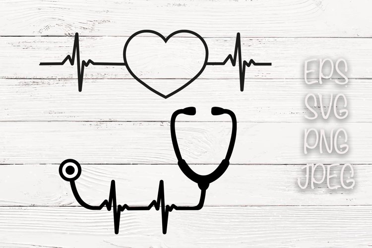 Heartbeat Svg example image 1