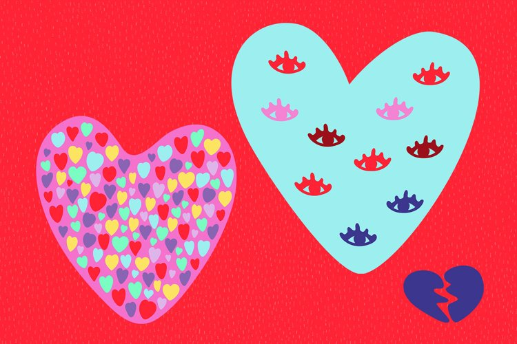 Valentine's Day Vector_part 11 example image 1
