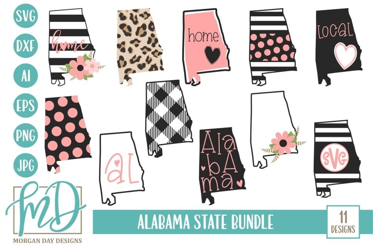 Download Alabama Home Alabama State Alabama Bundle Svg 332386 Cut Files Design Bundles