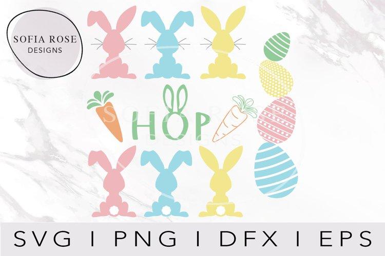 Easter SVG Bundle, Easter Bunny SVG, Easter SVG, Cut files example image 1