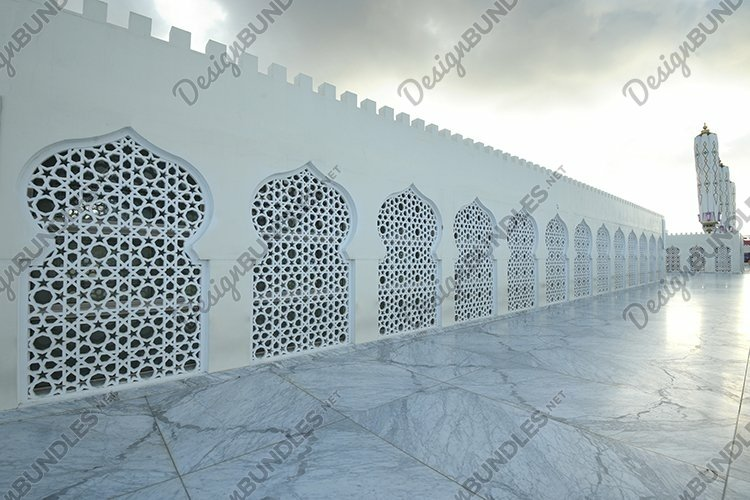 the beauty of the Baiturrahman Grand Mosque, Aceh