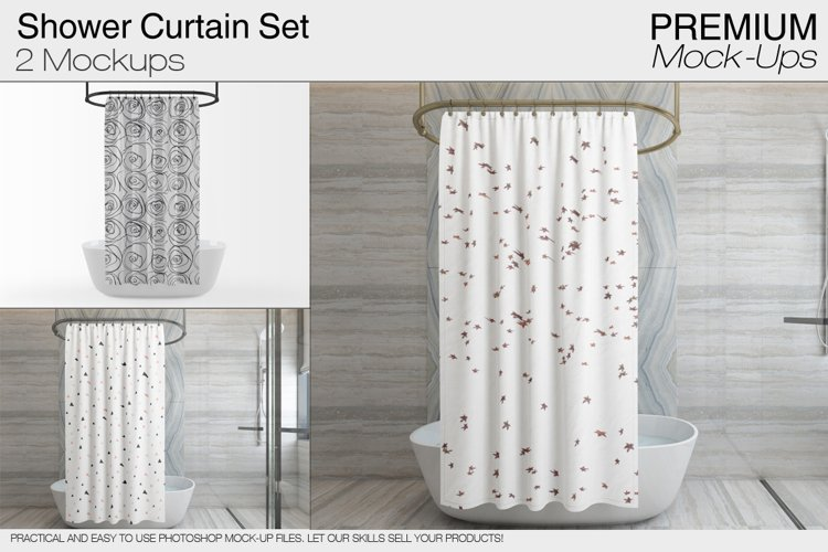 Shower Curtain example image 1