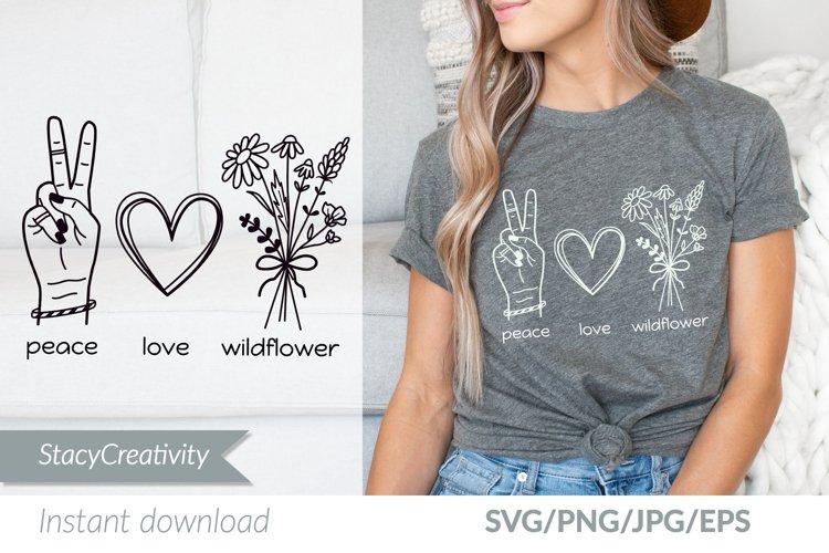 Peace Love Wildflower example image 1