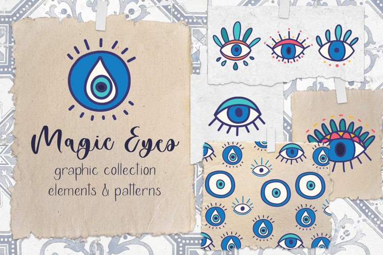 Magic Eyes. Graphic Collection