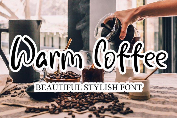 Warm Coffee example image 1