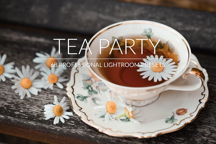 Tea Party Lr Presets example image 1