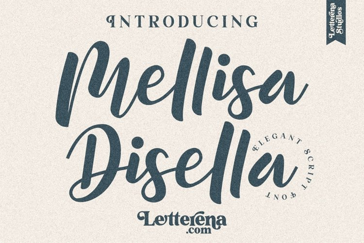 Mellisa Disella - Elegant Script Font example image 1