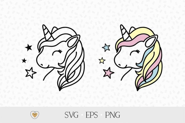 Unicorn svg, Unicorn face svg, Unicorn clipart