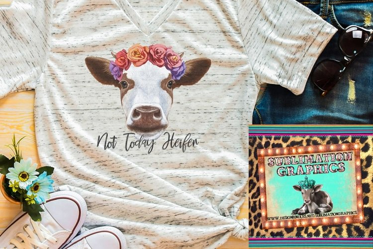 Not Today Sublimation Digital Download example image 1