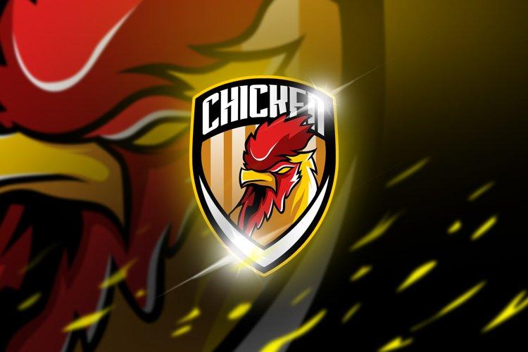 Chicken - maskot & logo esport example image 1