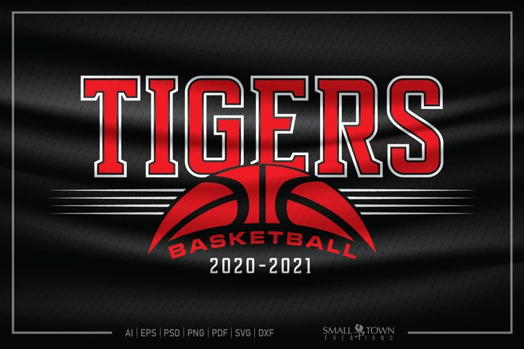 Tiger, Tiger Basketball, Tiger SVG, Tiger Basketball SVG example image 1