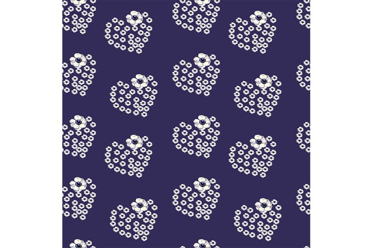 Delicate pattern on a blue background example image 1