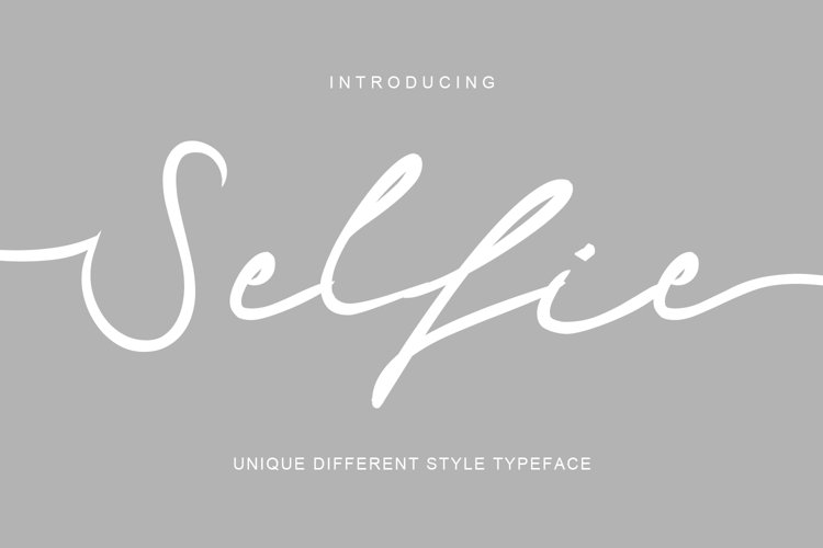 Selfie example image 1