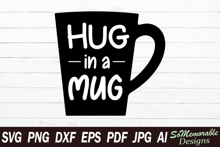 Coffee SVG cut file, Coffee svg design example image 1