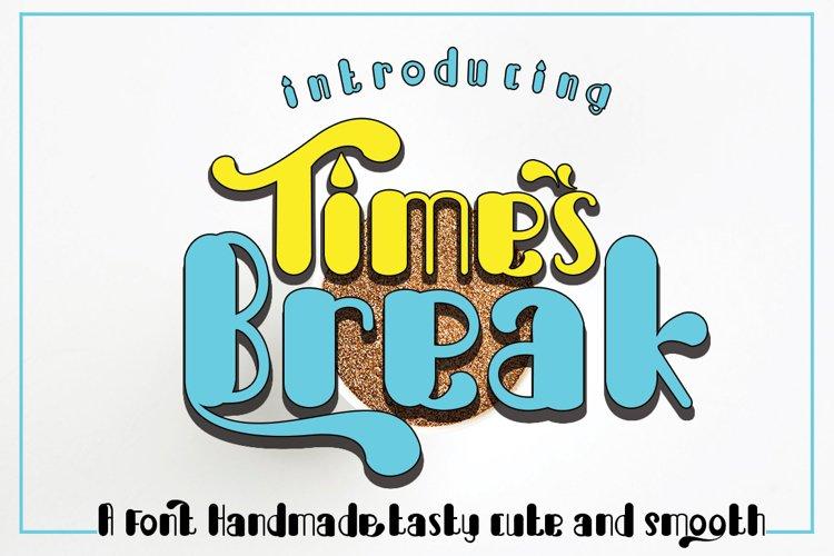 Break Times example image 1