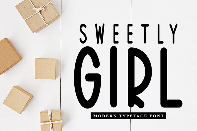 Sweetly Girl - Modern Typeface Font example image 1