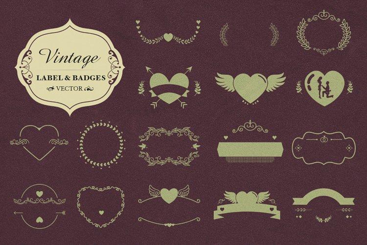 SVG- Vector Badges and Decorative Elements