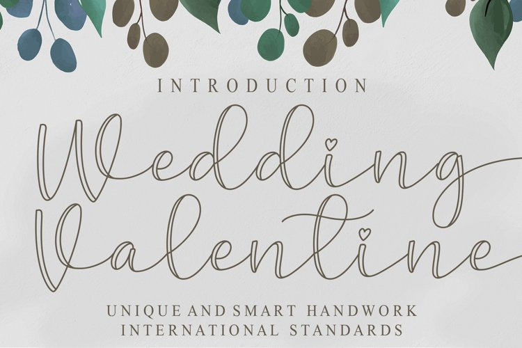 Wedding Valentine example image 1