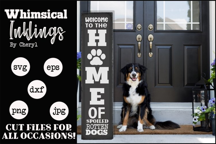 Spoiled Rotten Dogs-Vertical SVG example image 1