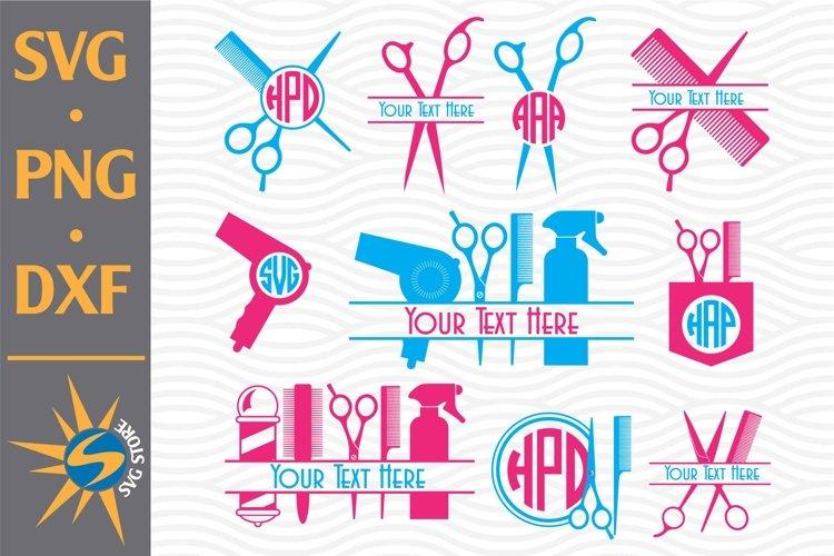 Download Hairdresser Monogram Svg Png Dxf Digital Files Include 687358 Cut Files Design Bundles