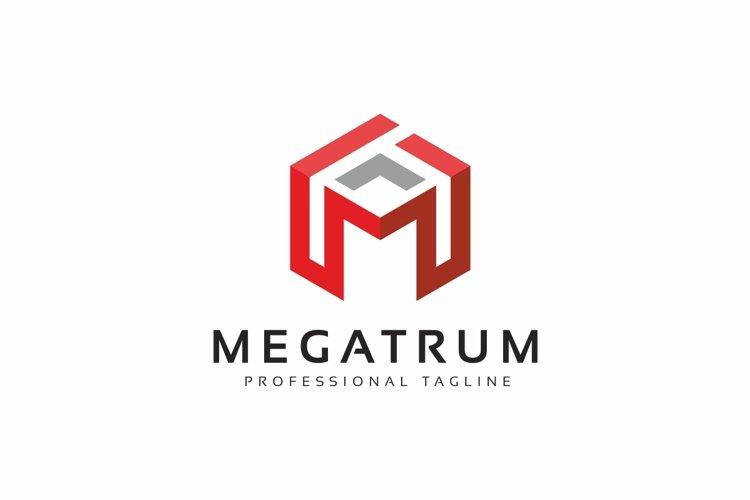 Megatrum M Letter Logo