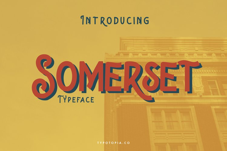 Somerset Typeface example image 1