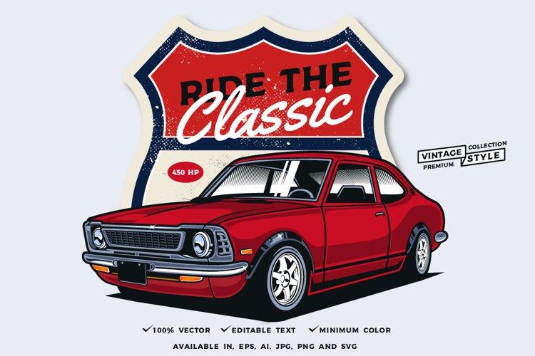 Classic car single example image 1