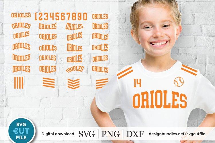 Orioles svg, Oriole svg, Oriole svg bundle, Oriole baseball example image 1