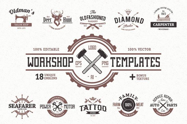 Workshop Logo Templates