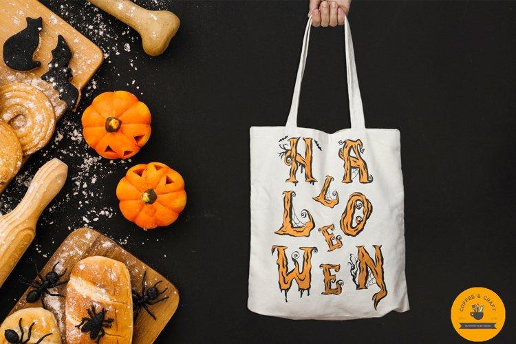 Halloween Alphabet - Free Design of The Week Design0