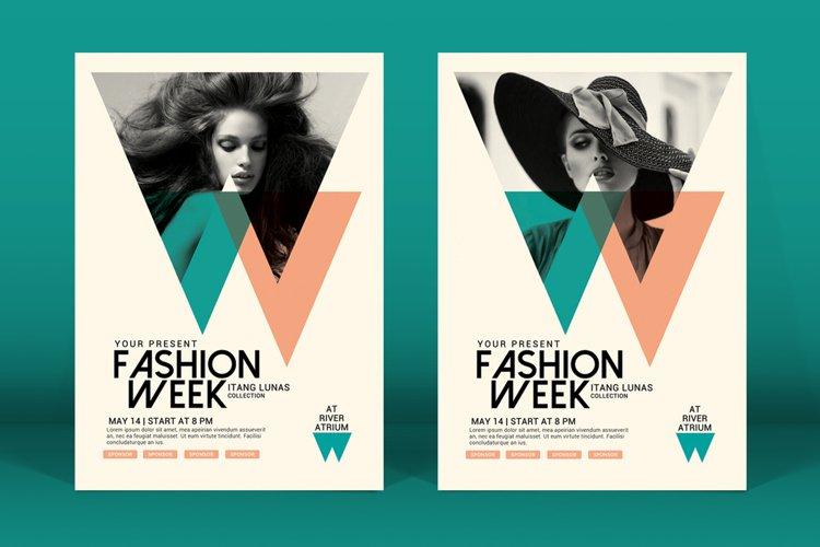 Fashion Week Flyer example image 1