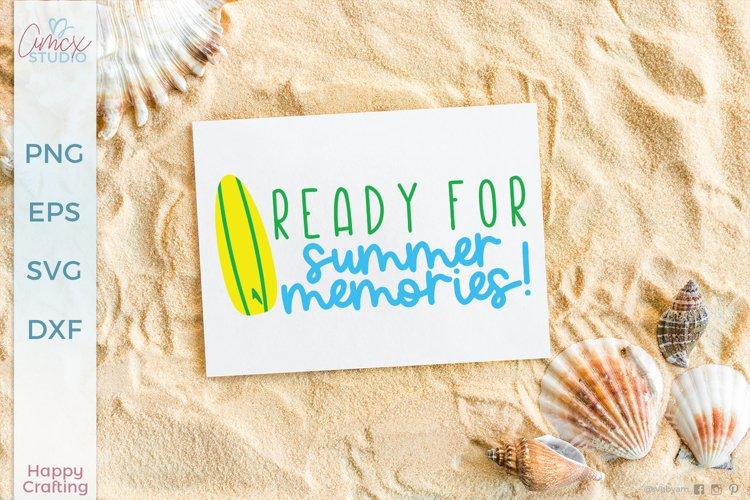 Summer Memories - Summer Craft SVG