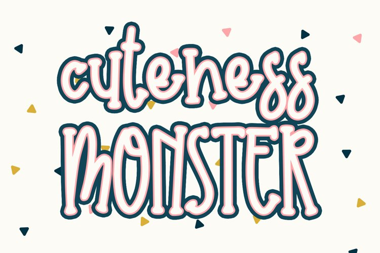 Cuteness Monster example image 1