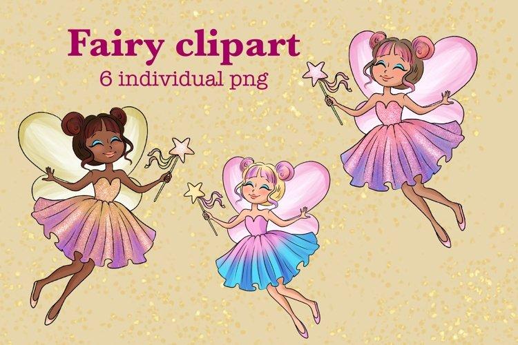 Fairy clipart, Pretty fairies clipart, Watercolor example