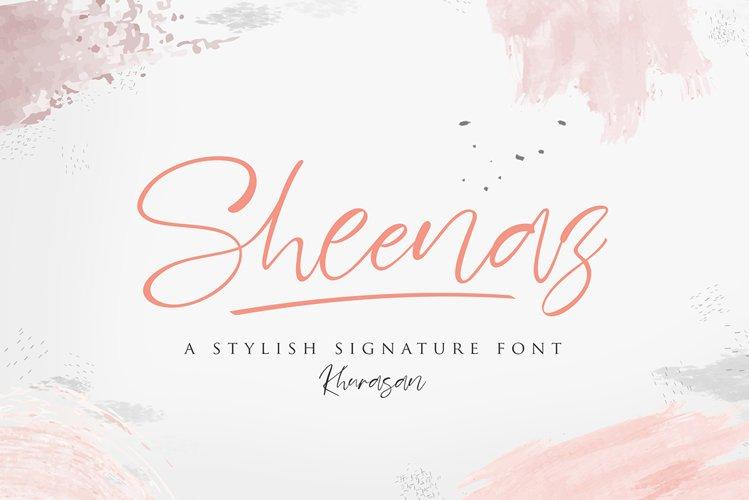 Sheenaz Script example image 1
