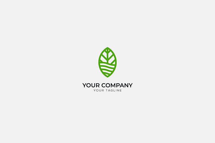 nature green leaf logo environmental