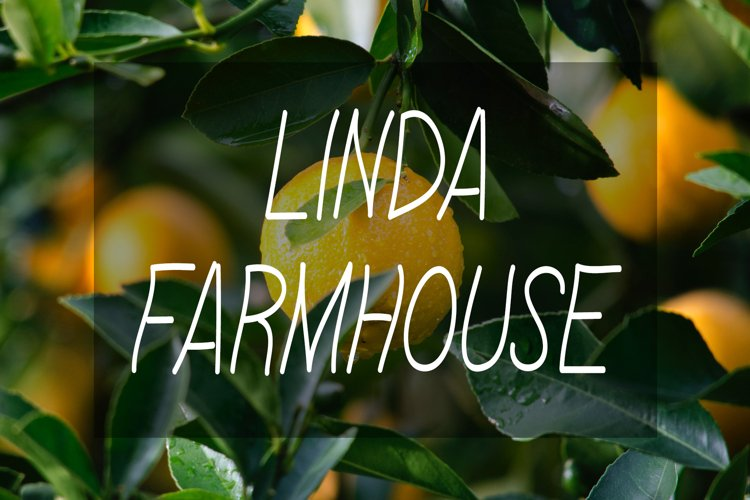 Linda Farmhouse Font example image 1