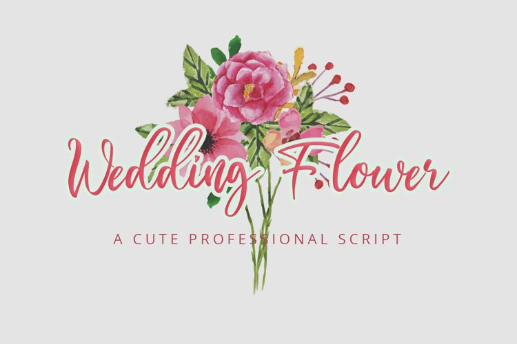 Wedding Flower | Display Typeface Font example image 1